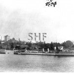 SUCCESS HMAS, 1920( left),HMAS ANZAC(1920) at right. Farm Co