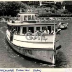 SUNRISE STAR in Lavender Bay. 1980s.