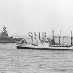 SUPPLY HMAS, 1955-1987 with HMAS MELBOURNE. SHF Coll.