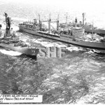 SUPPLY HMAS,0195, with HMASs PERTH 38 and DERWENT 49. SHF C