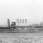 SWALLOW 1908 later train ferry at Grafton. SHF Coll.