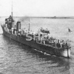 SWAN HMAS, 1916-1931, enters Port Adelaide 1928_ SHF