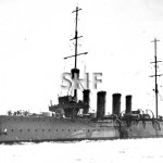 SYDNEY HMAS, 1913-1928. as built 1913.SHF Coll.