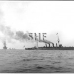 SYDNEY HMAS, 1913-1928.Fleet entry Oct 4, 1913.SHF Coll.