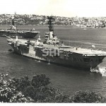 SYDNEY HMAS, and HMAS MELBOURNE (rear)RAN_
