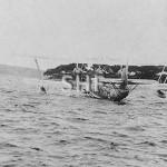 Short Flying boat RANGOON at Farm Cove, c. 1936.SHF Coll.