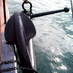 Stbd Anchor catted alongside