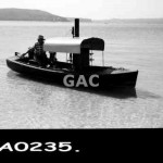 Steam Launch. GA0235.