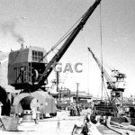 Steam crane, Cockatoo Is. 1969. Proof 139-5.