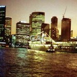 Sydney Cove by night, 1992. File 1137-33.