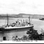 TAROONA 1935-1989, pre-war postcard, doctored. SHF Coll.