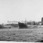 THERESA WARD leads RIVER CLARENCE,May 6,1952. Davidson, File