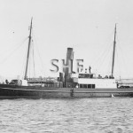 THETIS 1868, Sydney Pilot ship after 1875. SHF Coll.