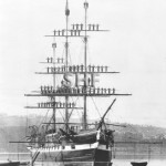 VERNON 1867, NSW training ship. SHF Coll.