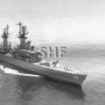 WAINWRIGHT USS, 1966 in Sydney 1967.SHF Coll.