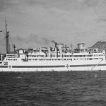 WANGANELLA 1932-1970. ex ACHIMOTA , as hospital ship WW2. SH
