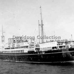 WANGANELLA outbound, Nov 29,1951.Davidson File 66.
