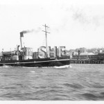 WARATAH 1902, ex BURUNDA 1918.working in N'castle. SHF Coll.