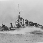 WARRAMUNGA HMAS, 1942-1963, trials 1942. SHF Coll.