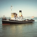 WATTLE 1934, Port Phillip cruising,1985.SHF Coll.