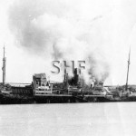 WEISENFELLS, German, sinking in Operation Bishop, 1941. SH