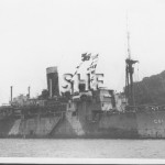 WESTRALIA HMAS, 1929-1962, as WW2 Landing ship. SHF Coll.