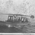 WHITE HEATHER Morrison and Sinclair work boat. SHF Coll.
