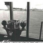 WOONA, view from wheelhouse, 1970