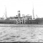 WYANDRA 1902-1926 with tug EMU.Dufty photo. SHF Coll.