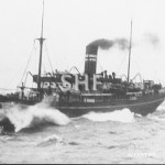 WYREEMA 1908-1958,at sea. SHF Coll.
