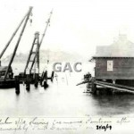 Wharf. Cremorne Point, sunk 31 December 1919.