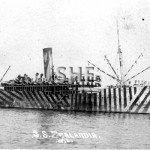 ZEALANDIA 1910-1942, as WW1 troopship. SHF Coll.