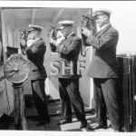 ZEALANDIA 1910-1942, officer with sextants. SHF Coll.