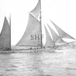 ZELMA 1896-1951, trading ketch, later lighter. SHF Coll.