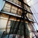 Backlit sails - J Spiers
