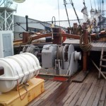 Fore and anchor deck