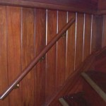 New handrail in companionway