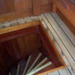 New handrails - a general view from above
