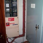 Switchboard and fire panel