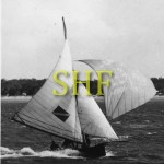 BORONIA, 16 foot skiff, Easter 1947.