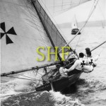 FLYING FISH, 18 foot skiff, October 1949.