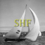 H. C. PRESS, 18 foot skiff, 1959.