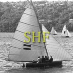 H. C. PRESS, 18 foot skiff, 1964.