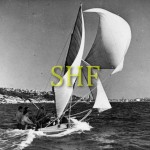JEAN, 18 foot skiff, Sydney Harbour.