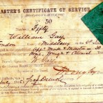 GAY, W. Masters Certificate of Service.