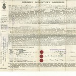PHILLIPS, H.I. Apprentices Indenture