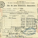 PHILLIPS, H.I. St John Ambulance Certificate