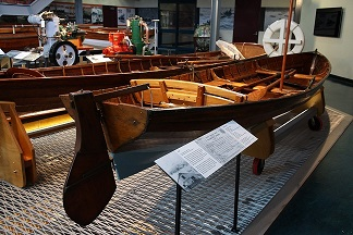 Kate, 16-foot waterman's skiff, 1913. SHF Collection