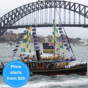Book your Australia Day Cruise with Sydney Heritage Fleet