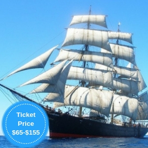 See Sydney Under Sail aboard Tall Ship <i>James Craig</i>